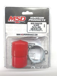 MSD 8830 MSD Ignition Noise Capacitor-26 KUFD-Red-Noise Filter- Noise Reducer