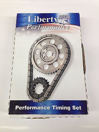 Liberty LT98100 305-327-350-400 Small Block Chevrolet Timing Set-Double Roller