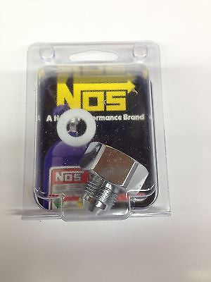 Nitrous Oxide Systems  NOS16232  -8AN-660 Bottle Nut adapter w/ washer