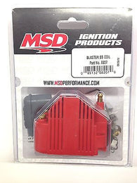 MSD 8207 MSD Ignition Blaster SS Coil High Voltage -40,000V E-Core Square Epoxy