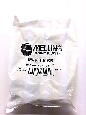 MELLING MPE-100BR Freeze Plug/Expansion Plug Kit Small Block Chevy 265-350 SBC
