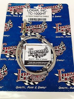Lokar TC-1000HT Hi-Tech Throttle Cable - 24