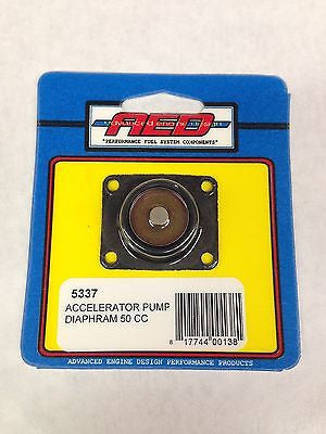 AED 5337 Accelerator Pump Diaphram for Holley Carburetor - 50 CC