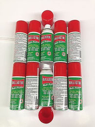 Ballistol Multi Purpose Oil-Lubricant Gun Cleaner-LOT OF 10  1.5oz Aerosol cans