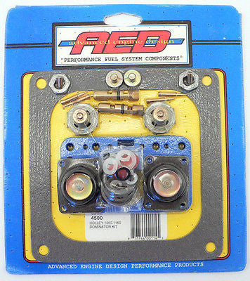 AED 4500 Dominator Carburetor Rebuild Kit 750 1050 1150 CFM Gasoline Carb .110