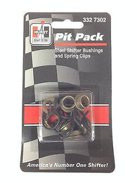 HURST 3327302 Pit Pack - Steel Shifter Bushings and Spring Clips-Pack of 7