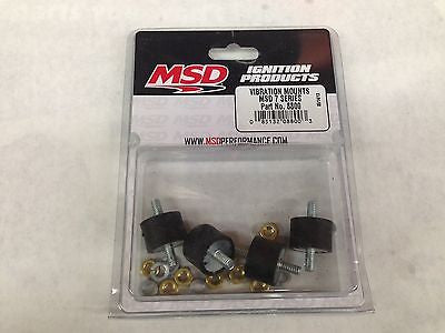 MSD 8800 7 series Vibration Mounts - Genuine MSD Ignition Mounts - NEW