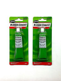 SLIME 1051-A 1oz Tube Rubber Cement - Rubber Tire & Bike Repair-Buy 1 Get 1 FREE