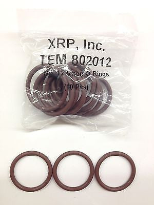 XRP 802012 -12 12AN Viton® O-ring for race hose fitting & plumbing line-Lot of 5