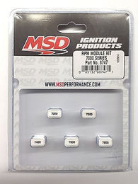 MSD 8747 - MSD Ignition 7000RPM-7800RPM Module Kit- Rev Limiter Pill Kit-Even