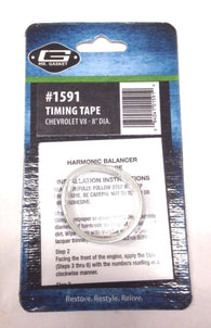 Mr. Gasket 1591 Balancer Timing Tape for Chevy big block and small block, 8