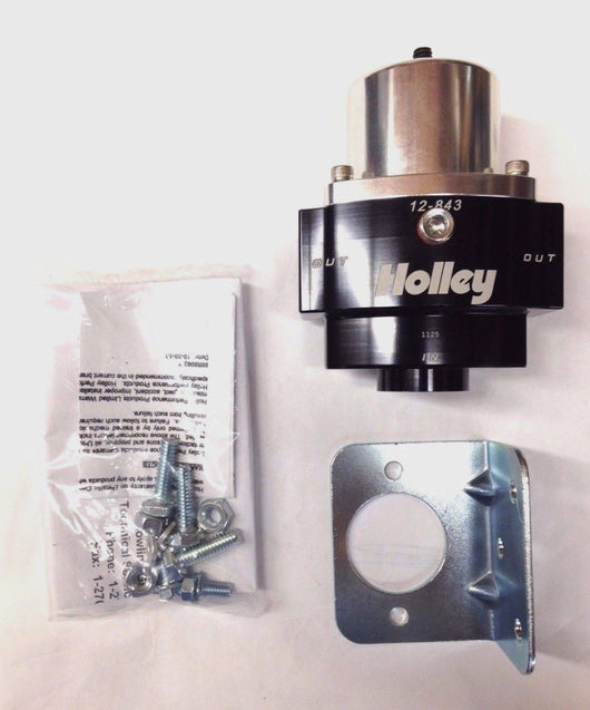 Holley 12-843 HP BILLET CARBURETED FUEL PRESSURE REGULATOR
