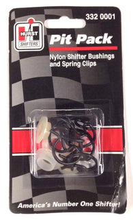 Hurst 3320001 Nylon Shifter Bushings and Spring Clips, 7/pkg