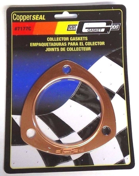 Mr. Gasket 7177C Collector Gaskets - Copper- Triangle - 3