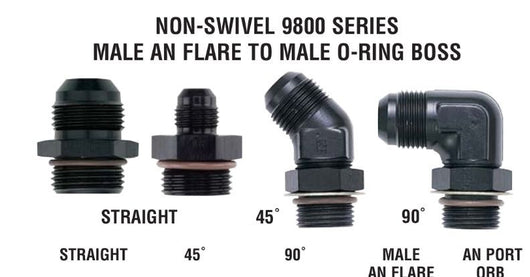 8 O-Ring Boss XRP 10 Male 90 To
