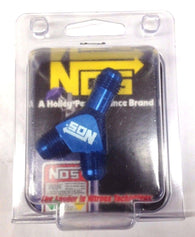 NOS 17835 High Flow Y-Fittings, 6AN, Blue Anodized