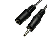 3.5mm Audio Cable 3.5mm Stereo MALE to FEMALE GRANDMAX