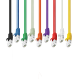 9 Colors - Cat6 Patch Cable Bubble Boot (Black, Blue, Green, Gray, Orange, Purple, Red, White, Yellow) GRANDMAX.com