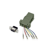 Modular Adapter Kit DB9 Female to RJ12 Female 6 Conductor GRANDMAX.com