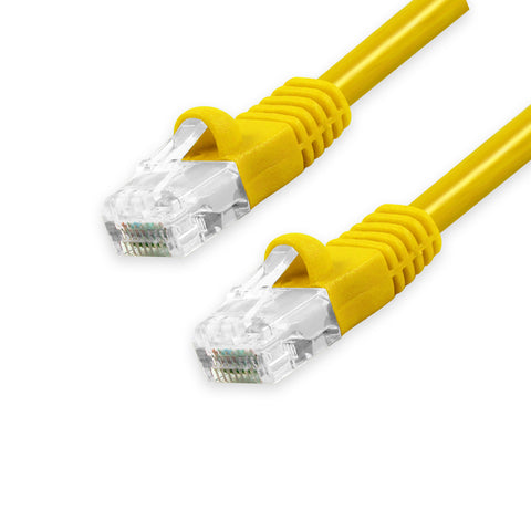CAT6 Unshielded Twisted Pair (UTP) Ethernet Patch Cable, Bubble Boot