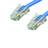 Cat6 Plenum Patch Cable No Boot (100ft or More) - Blue GRANDMAX.com