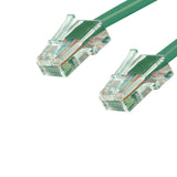 Cat6 Plenum Patch Cable No Boot (100ft or More) - Green GRANDMAX.com