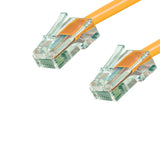 Cat6 Plenum Patch Cable No Boot (100ft or More) - Orange GRANDMAX.com