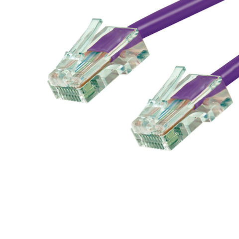 CAT6 Unshielded Twisted Pair (UTP) Ethernet Patch Cable, No Boot