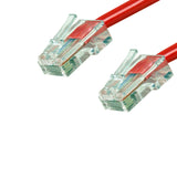 Cat6 Plenum Patch Cable No Boot (100ft or More) - Red GRANDMAX.com