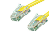 Cat5e Patch Cable No Boot - Yellow GRANDMAX.com