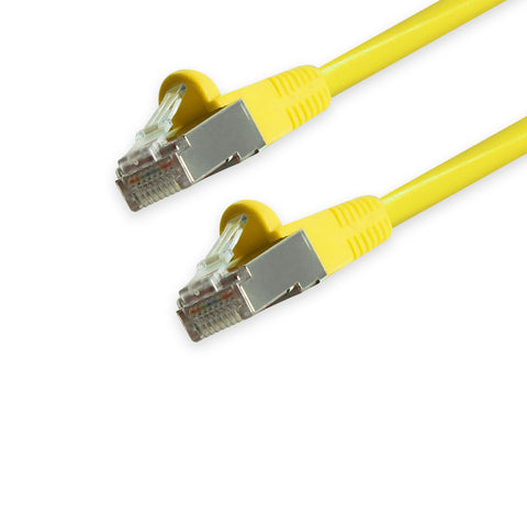 CAT6 Shielded Twisted Pair (STP) Ethernet Patch Cable, Bubble Boot