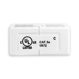 CAT5E  In-Line Coupler RJ45 White by Grandmax
