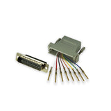 Modular Adapter Kit - DB25 Male to RJ45 Female - 8 Conductor - GRANDMAX.com