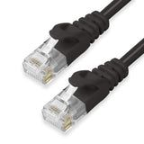 CAT6 Ethernet Patch Cables,  Molded Snagless Boot, UTP BLACK - GRANDMAX.com