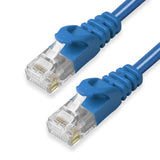 CAT6 Ethernet Patch Cables,  Molded Snagless Boot, UTP BLUE - GRANDMAX.com
