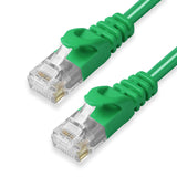 CAT6 Ethernet Patch Cables,  Molded Snagless Boot, UTP GREEN - GRANDMAX.com