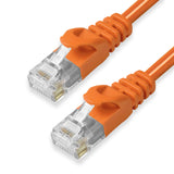 CAT6 Ethernet Patch Cables,  Molded Snagless Boot, UTP ORANGE - GRANDMAX.com