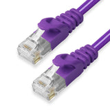 CAT6 Ethernet Patch Cables,  Molded Snagless Boot, UTP PURPLE - GRANDMAX.com