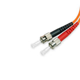 Fiber Optic Patch Cable - ST/SC Multi Mode Duplex 62.5/125 OM1 3.0mm Orange 1METER