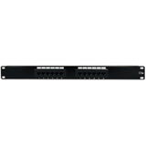 Cat5e Patch Panel - 110 Type, 568A/B Compatible - GRANDMAX.com