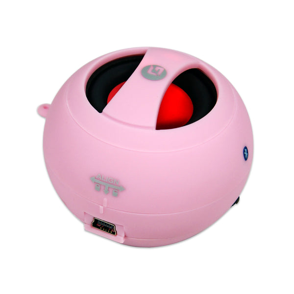 Bluetooth Wireless Portable Speaker - Pink - GRANDMAX.com