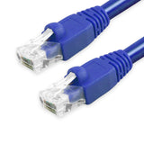 Cat6A Patch Cable Unshielded Bubble Boot - Blue GRANDMAX.com