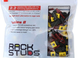 Rackstuds Rack SERIES II Mounting System - RED 2.2mm EASY INSTALL