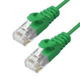 Cat6 Slim Patch Cable Molded Snagless Boot - Green GRANDMAX.com