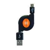 5 Pack Retractable Micro USB Kit, Mini-USB - GRANDMAX.com