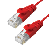 Cat6 Slim Patch Cable Molded Snagless Boot - Red GRANDMAX.com