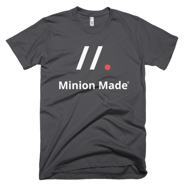 //. Minion Made T-Shirt