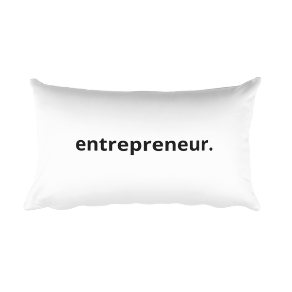 Entrepreneur Pillow