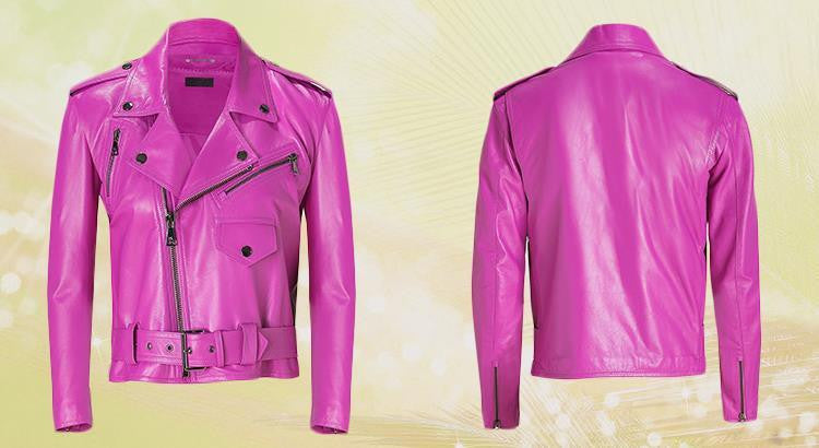 Pretty in Pink Leather
