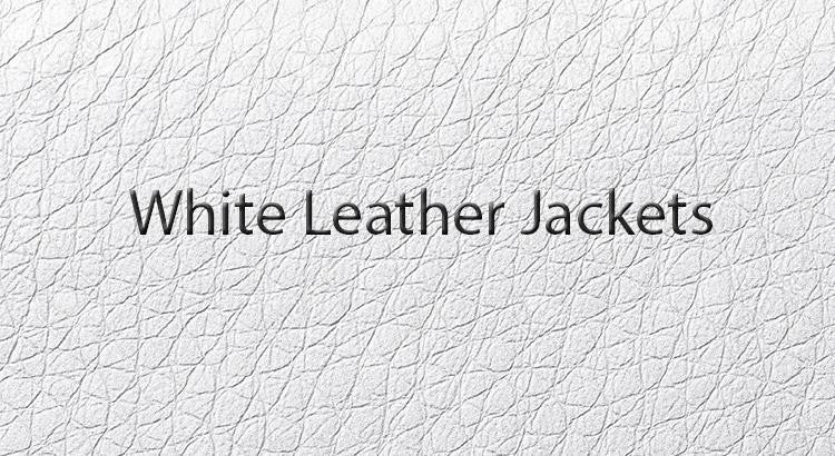White Designer Jackets - To be Worn Any Time & Any Place